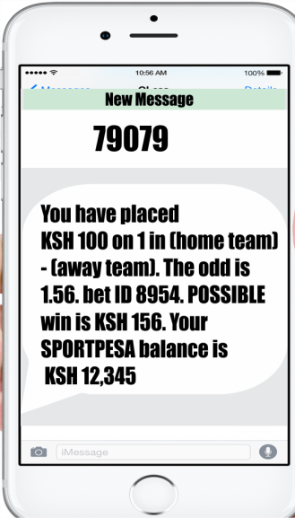How to play on Sportpesa