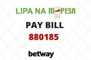 BetWay paybill number