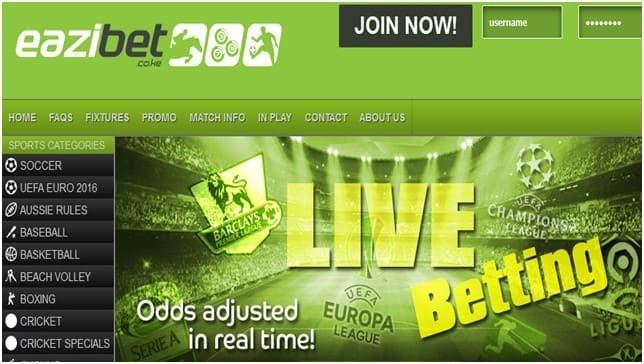 How to bet in EaziBet