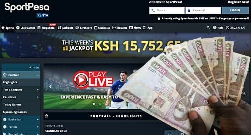 How to deposit in Sportpesa